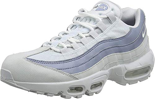 Nike Men's Air Max 95 Essential Competition Running Shoes, Grey (Pure Platinum/White-Ashen Slate 036), 10 UK