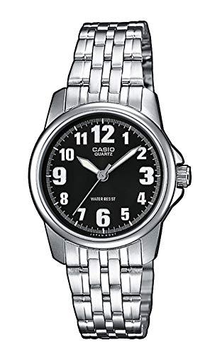 Casio Reloj Analógico para Mujer de Cuarzo con Correa en Acero Inoxidable LTP-1260PD-1BEF
