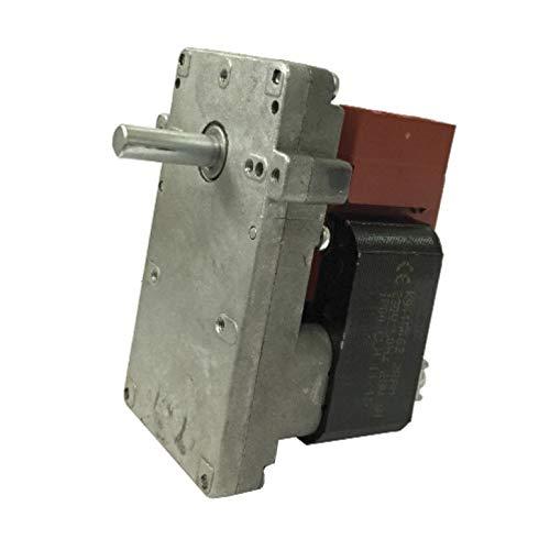 Easyricambi Motoriduttore per Stufa a Pellet KENTA K9115005 1,5 RPM Albero da 8,5mm Motore per carico Pellet