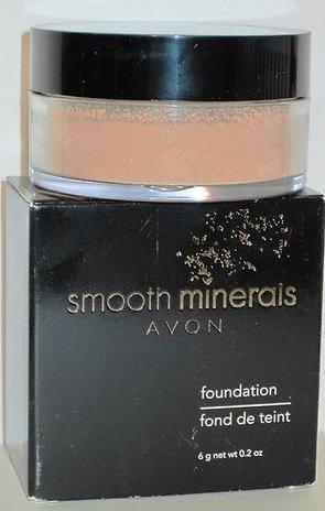 """Avon Smooth Minerals Loose Powder Foundation""""Sand Beige"""""""