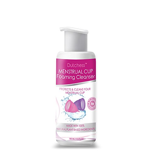 Dutchess Menstrual Cup Foaming Cleanser - Multi-Use Feminine Wash - Suitable for all skin types - Organically Sourced Plant Based Ingredients - 100ml
