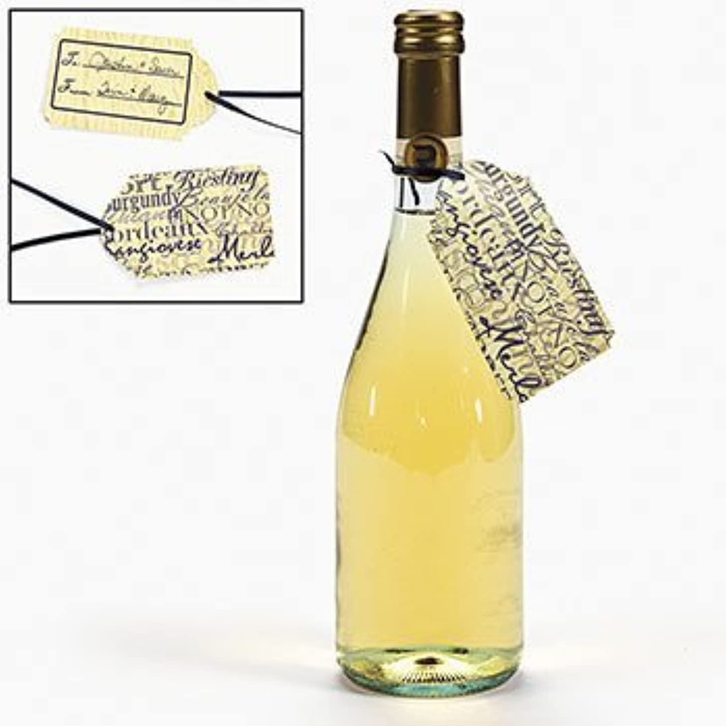 """~ 24 ~ Wine """"To / From"""" Gift Tags ~ New ~ Chianti Bordeaux Burgundy"""
