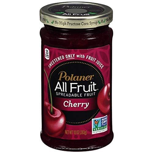 Polaner All Fruit Cherry Fruit Spread 10oz - 2 Pack