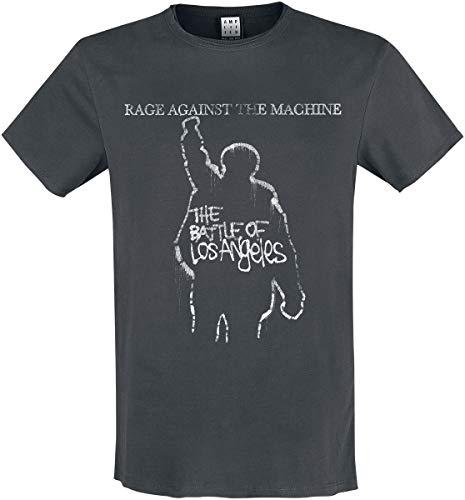 Rage Against The Machine Amplified Collection - The Battle of LA Hombre Camiseta Gris Marengo XXL