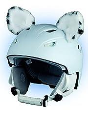 Crazy Ears Helm-accessoires oren kat tijger lux kikker, skioren geschikt voor skihelm, motorhelm, fietshelm en nog veel meer