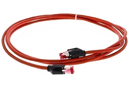 jetcat7-industry-20, S/FTP Cat 6A Patchkabel, PUR, 20m, rot