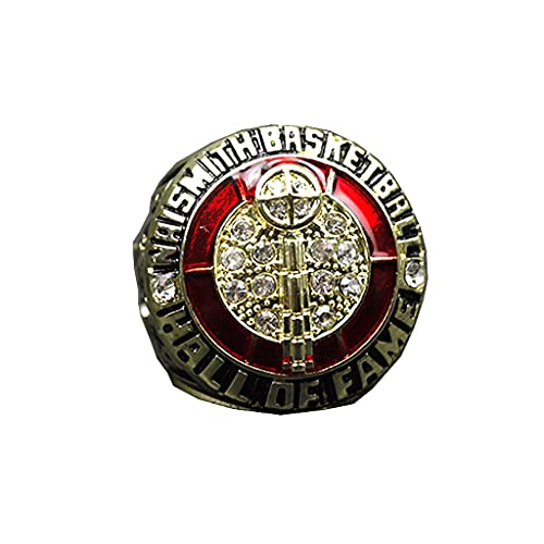 Fei Fei 2021 NBA Hall of Fame Kobe Memorial Basketball Championship Ring Champion Ring Replica Creative Ring para Mujeres y Hombres,with Box,11#