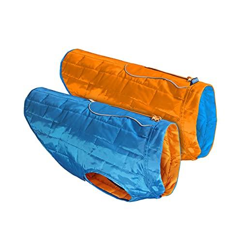 Chaqueta reversible para perros Chaqueta reflectante resistente al agua para perros