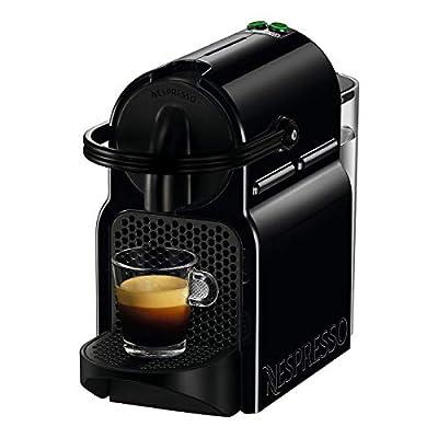 De'Longhi   Nespresso Inissia, Capsule Coffee Machine   EN80BAE With Aeroccino Milk Frother   Black