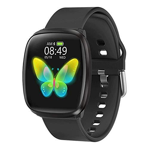 Pulsera inteligente inalámbrica 5.0, compatible teléfonos Android, reloj inteligente pantalla táctil de 1.3 pulgadas, recordatorio llamadas, reloj deportivo impermeable, compatible con varios idiomas