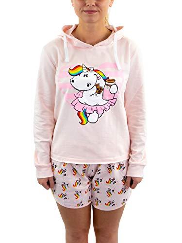 Pummel & Friends - Loungewear Shorty Set (rosa) - Pummelfee (Keks) Größe XL