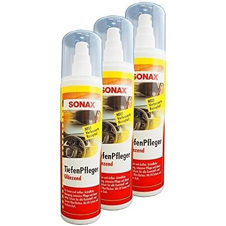 Preisjubel 12 X Sonax Tiefenpfleger Glänzend 300ml Kunststoff Pflege Reiniger Gummi Auto