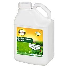 Solabiol SOMOUS5 Anti-Mousse Raidmousse 5L | Algues, Lichens sur Tronc et Gazon, Multicolore
