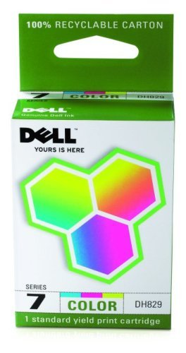 Dell Computer DH829 7 Standard Capacity Color Ink Cartridge for 966/968
