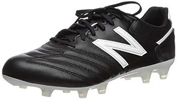 New Balance Men s 442 Firm Ground V1 Soccer Shoe Black/White 8 Wide