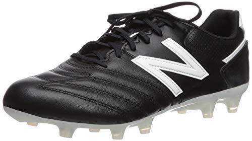 New Balance Men's 442 Firm Ground V1 Soccer Shoe, Black/White, 8 Wide