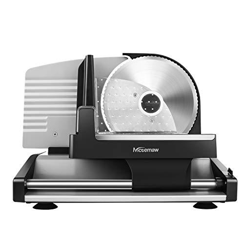 Professional Salad Maker, Electric Slicer Shredder/Graters (silver)