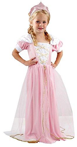 Rosa Mädchen Prinzessin Kostüm Age 3