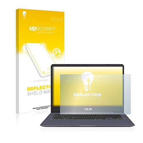 upscreen Entspiegelungs-Schutzfolie kompatibel mit Asus VivoBook S14 S406UA – Anti-Reflex Bildschirmschutz-Folie Matt