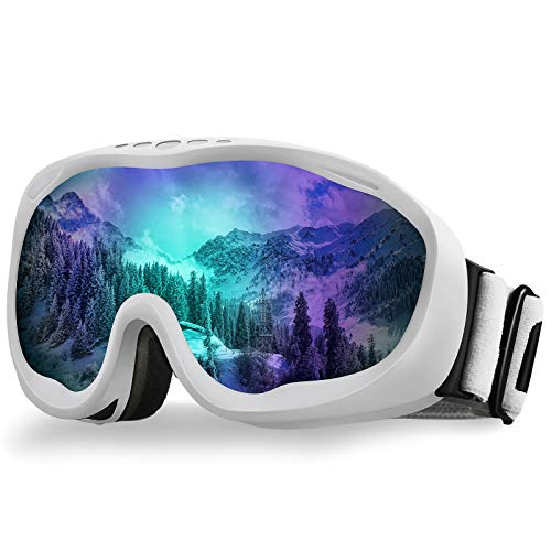 AKASO Alta Ski Goggles, Snowboard Goggles Anti-Fog, 100% UV Protection, Double - Layer Spherical...