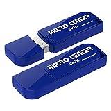 Micro Center 2 Pack 64GB USB 2.0 Flash Drive USB...