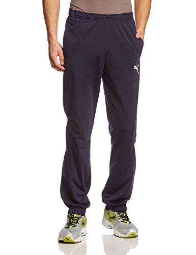 Puma Tricot, Pantaloni Unisex-Adulto, Blu (New Navy-White), M