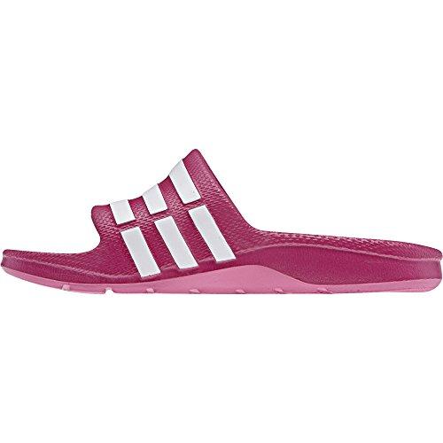 Adidas Duramo Slide, Zapatillas Unisex Niños, Rosa (Pink Buzz/Running White/Pink Buzz), 28 EU (10.5 UK)