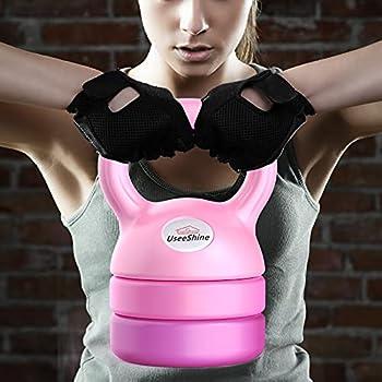 UseeShine Adjustable Strength Training Kettlebells