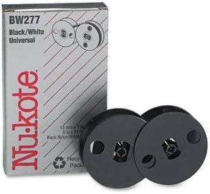 NU-KOTE INTERNATIONAL / Bi-chrome compatible ribbon for all spool ribbon model typewriters / NUKBW277 / Sold as 1 Each / Mfr Part # BW277 / Bi-chrome compatible ribbon for all spool ribbon model typ