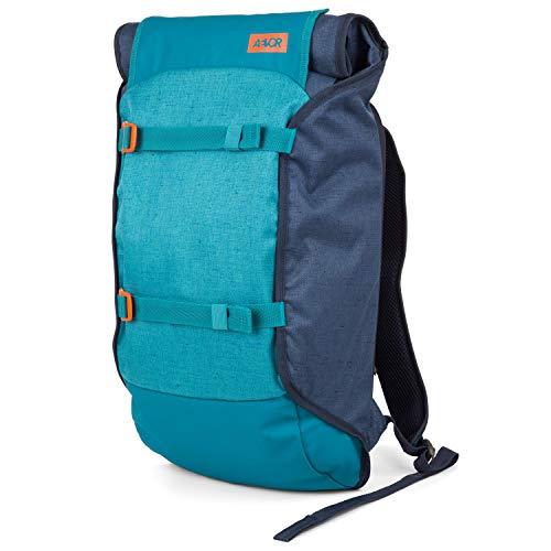AEVOR Trip Pack - erweiterbarer Rucksack, ergonomisch, Laptopfach, wasserabweisend - Bichrome Bay