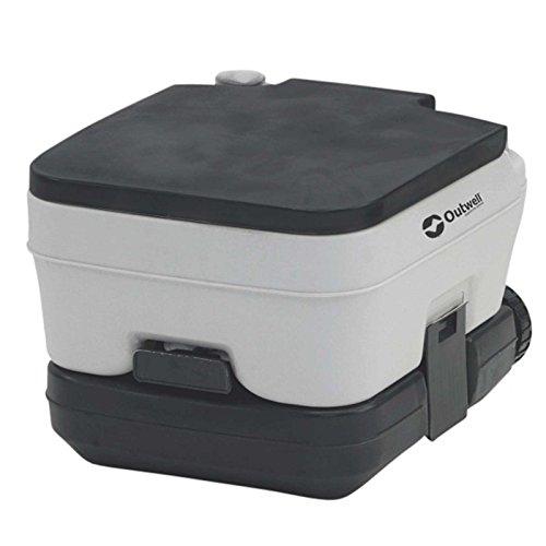 Outwell Erwachsene 10L Portable Campingtoilette, Grau, One Size