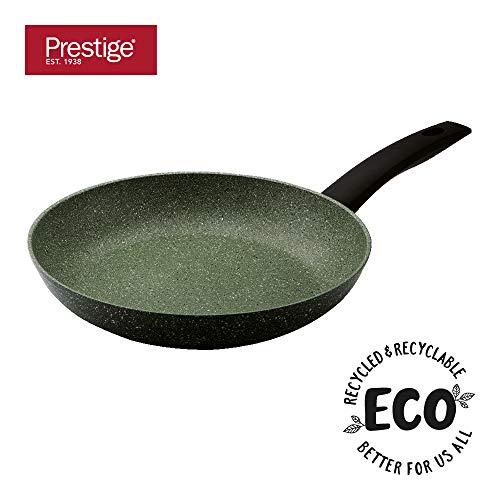 Prestige Eco 28 cm Bratpfanne, hochwertige Antihaft Pfanne, recycelte Aluminium Pfanne mit pflanzlichem Antihaft System, spülmaschinenfeste Induktionspfanne mit 5-jähriger Garantie