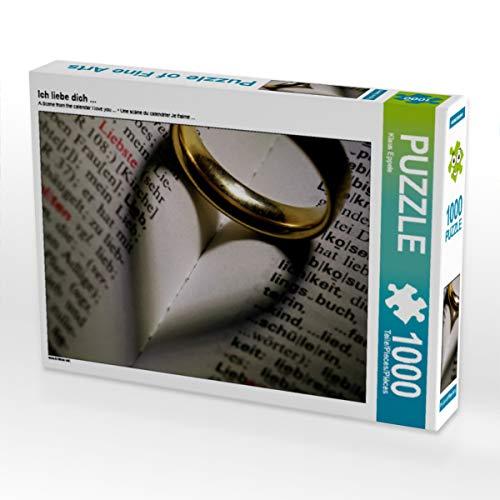 CALVENDO Puzzle Ich Liebe Dich ... 1000 Teile Lege-Größe 64 x 48 cm Foto-Puzzle Bild von Klaus Eppele