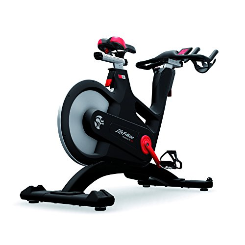 Life Fitness Indoor Cycle IC7 Powered by ICG – Indoor Bike mit TFT-Trainingscomputer, Coach by Color Trainingssteuerung, lautloser Riemenantrieb, Magnetbremssystem
