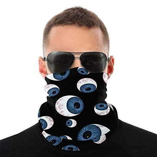Quintion Robeson Globos oculares Unisex Al Aire Libre Variedad Pañuelo en la Cabeza Pañuelo Deportivo en la Cabeza