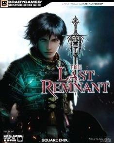 mächtig The Last Remnant Signature Series-Handbuch (Bradygames Signature Guide) Englisch