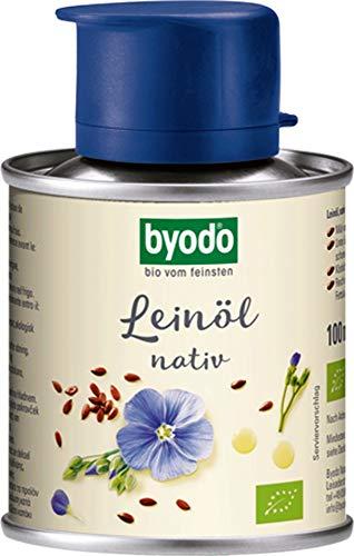 Byodo Bio Leinöl, nativ, 0,1 l (2 x 100 ml)
