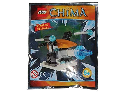 Blue Ocean LEGO Legends of Chima Ice Cannon 391411 - Juego de papel de aluminio
