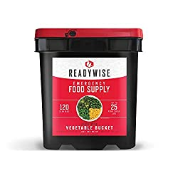 Wise Company ReadyWise, Emergency Food Supply, Freeze Dried Vegetables,...
