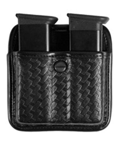BIANCHI, 7922 AccuMold Elite Triple Threat II Magazine Pouch, Basket Black, Size 2