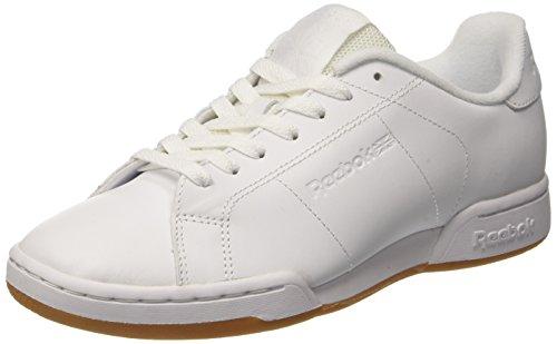Reebok NPC II TG, Zapatillas de Gimnasia para Hombre, Blanco (White/Gum), 44 EU