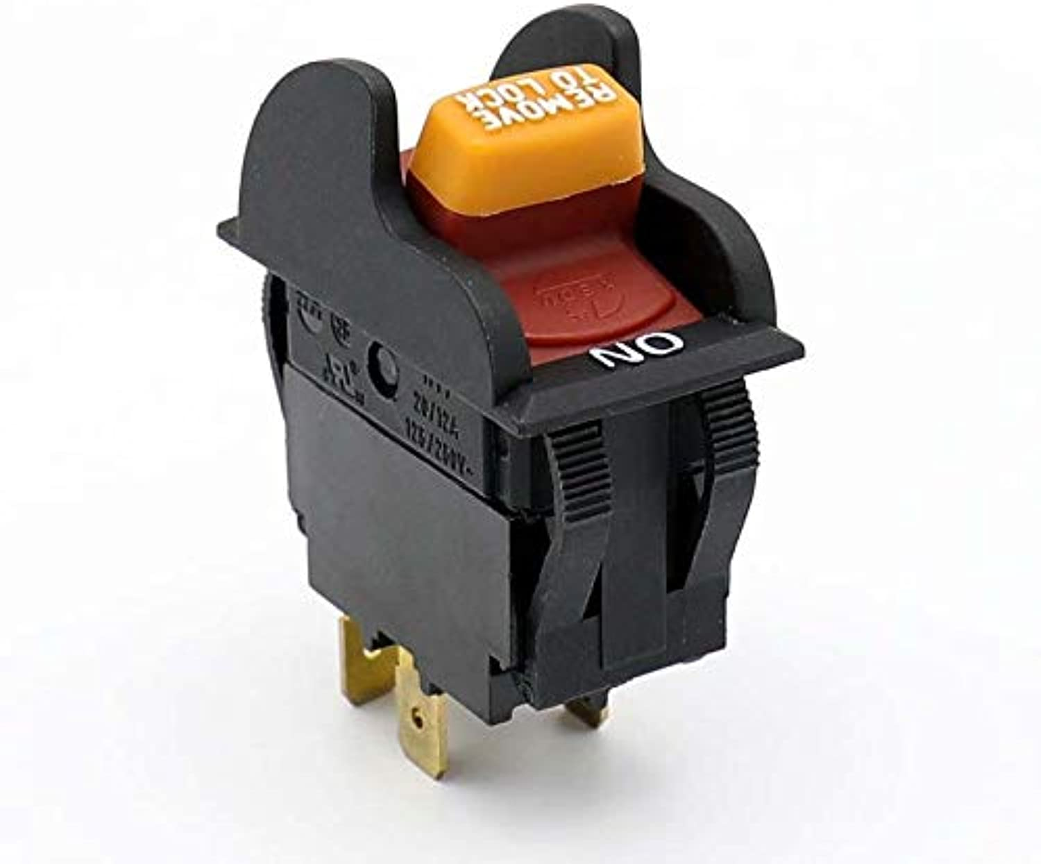 HY7 20A 12A 125V 250VAC Waterproof Industrial Electric Key Switches for Electric Power Tools