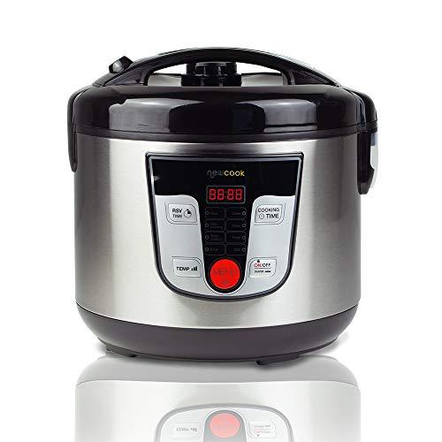 NEWCOOK Robot de Cocina Multifunción, Capacidad 5 Litros, P