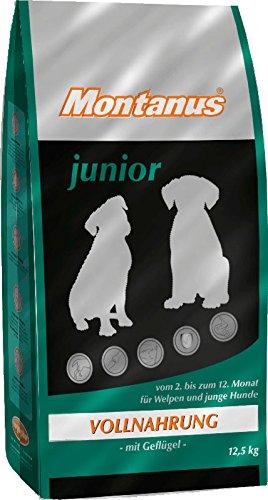 MONTANUS® junior, Hundefutter, 12,5 kg