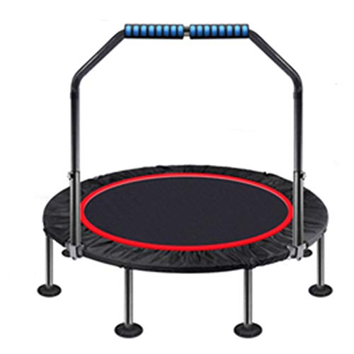 Trampolines YNN 100cm Garden Workout With Safety Pad Adjustable And Detachable Foam Handle Indoor Outdoor For Kids Adults Support 225kg