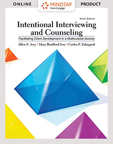 MindTap Counseling, 1 term (6 months) Printed Access Card for Ivey/Ivey/Zalaquett's Intentional Interviewing and Counsel