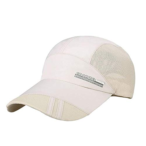 Gbksmm Unisex Summer Outdoor Sporthut Laufen Visierkappe Beliebte Baseball Sport Caps Outdoor Verstellbarer Hut-Yz0011Cc_Einheitsgröße