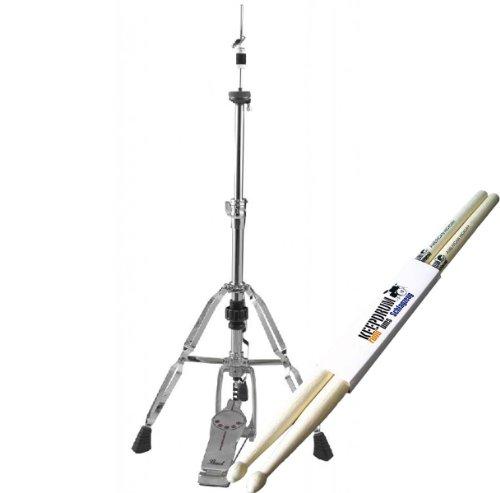 Pearl H-930 Demonator Hihat Maschine + 1 Paar keepdrum Drumsticks