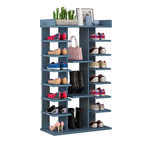 Schoenenrek voor het opbergen van schoenen en rekken met schoenenlade voor de ingang van de woonkamer en deurgreep.
