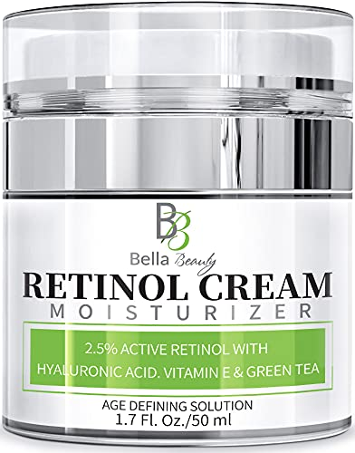 Retinol Moisturizer Anti Aging Cream for Face and Eye Area - With...